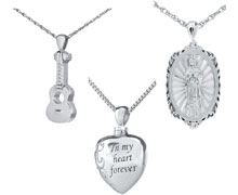 Stainless Steel Cremation Jewelry